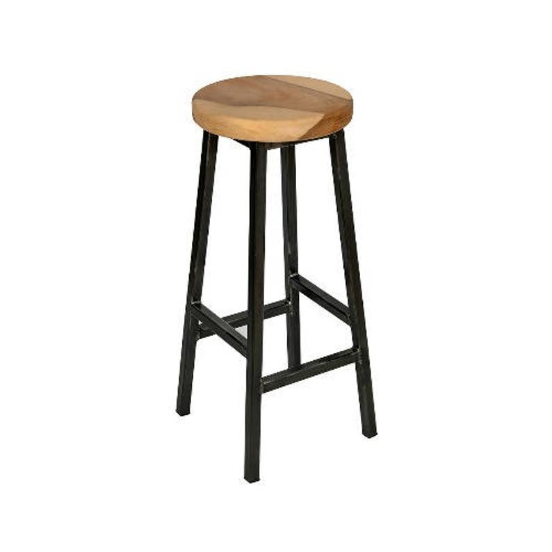 Charlie Walters _ Chunky Square Frame Bar Stool with Chunky image 0