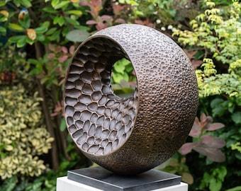 Large Bronze garden sculpture, 'XL Abstract Form II', Limited edition, abstract sculpture, metal sculpture