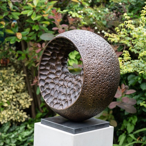 'XL Abstract Form II', Limited edition bronze sculpture