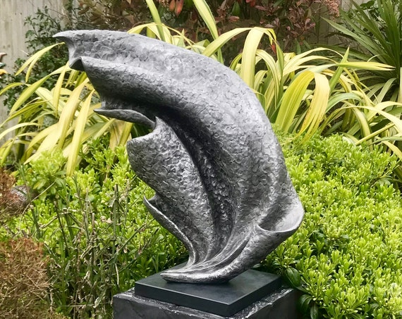 Wave Garden Sculpture, aluminium, Limited Edition