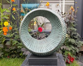 Bronze garden sculpture, 'Abstract Form III', Limited edition, abstract sculpture, contemporary sculpture