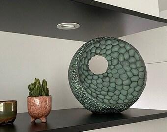 Bronze garden sculpture, 'Abstract Form II', Limited edition, abstract sculpture, contemporary sculpture