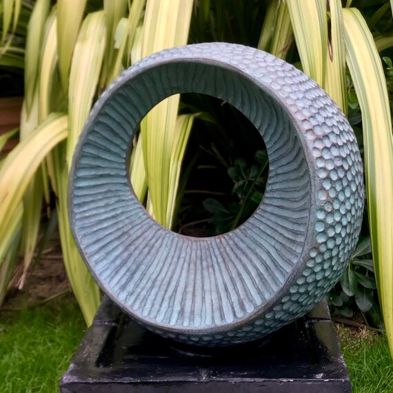 Large Abstract Form III, Limited Edition bronze and resin sculpture