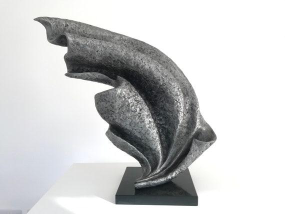 Wave Garden Sculpture, metal sculpture, aluminium, Limited Edition