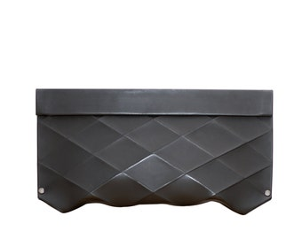 Eco Leather CLUTCH eco Leather Handbag Evening Clutch MODERN CLUTCH