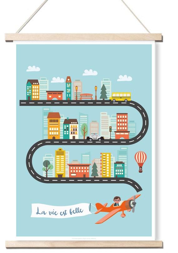 Papier-Plakat-Leben ist schöne Dekoration für Kinderzimmer