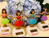 Hawaiian Dashboard Dancing Hula Girl Doll, Solar Powered Motion Dancer Pose, A Random FREE Appreiation Gift Included PROMOTION
