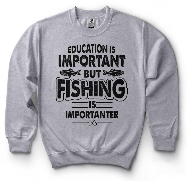 86ebd9fb9 Fishing Sweatshirt Funny Fisherman Fishing Apparel Fleece | Etsy