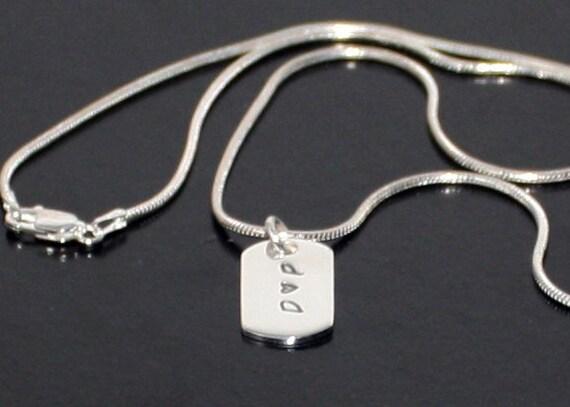 Sterling Silver Dog Tag Valentines Gift Boyfriend Girlfriend  517defd14