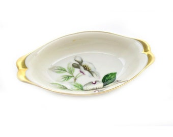 Norleans Japan ashtray ducks and cattails