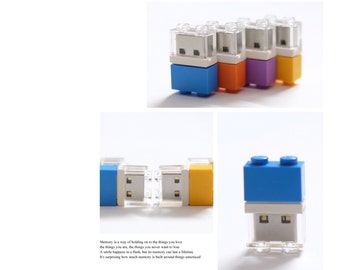 LEGO 1X2 USB flash drive Custom/handcrafted