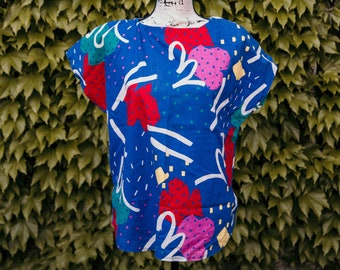 c41db767039 1990's Abstract Scrubs - LG