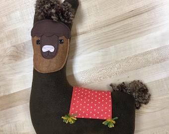 LLAMA Plush Stuffed Toy  Ready To Ship