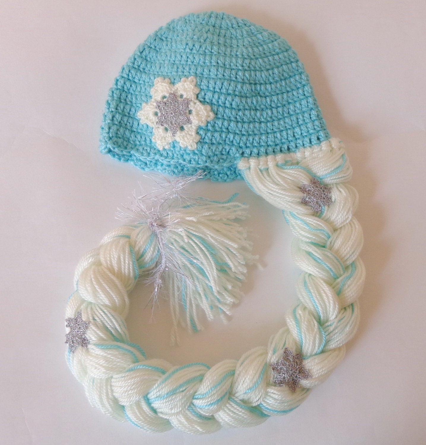 Elsa Frozen Hat With Snowflake Flower Disney Princess Queen Etsy