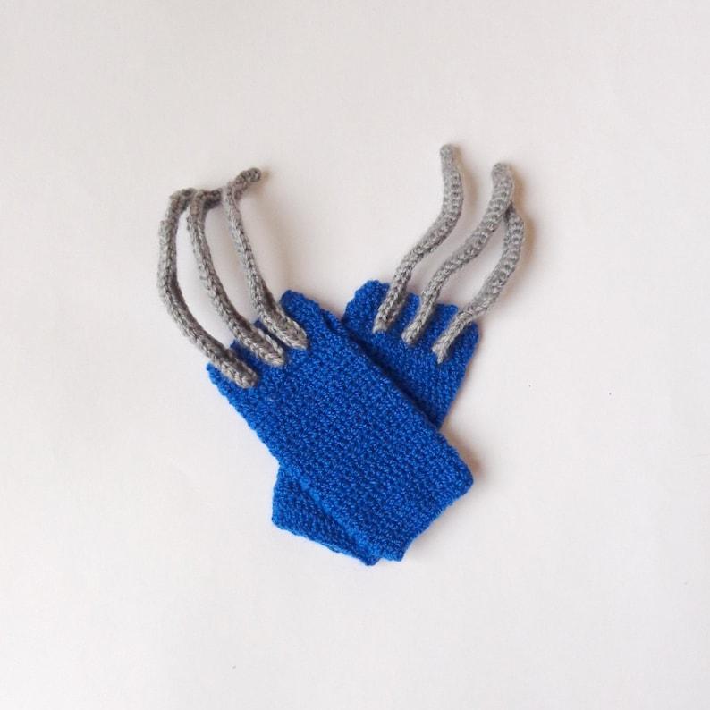 c6d28d927f9 Wolverine Marvel Gloves Wolverine Beanie Superhero Gloves