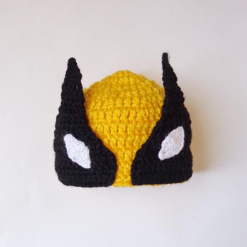 adae3d55869 Wolverine Marvel Hat Costume Wolverine Beanie Mask Superhero