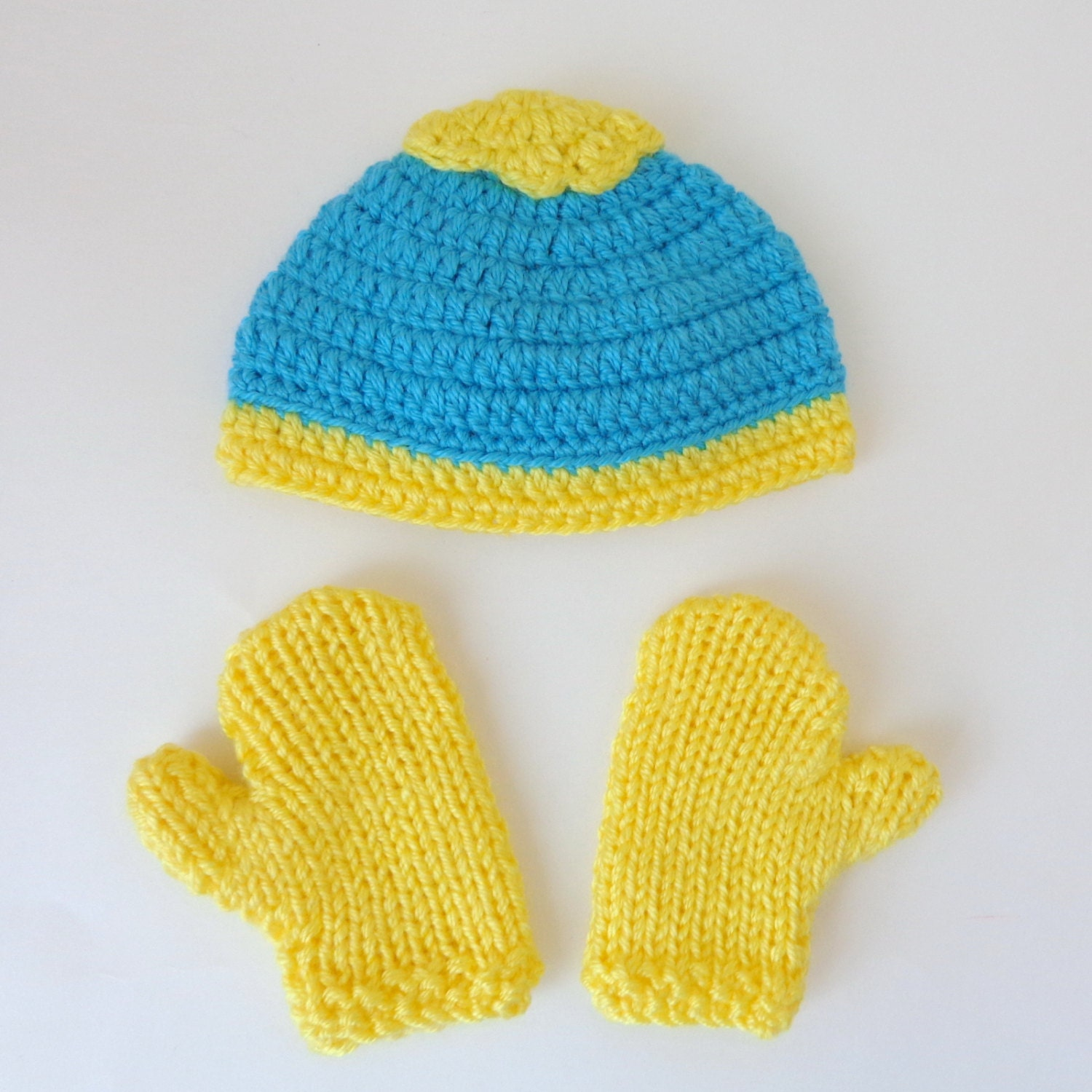 Eric Cartman Hat And Mittens Or Gloves From South Park  5f89a0f661b