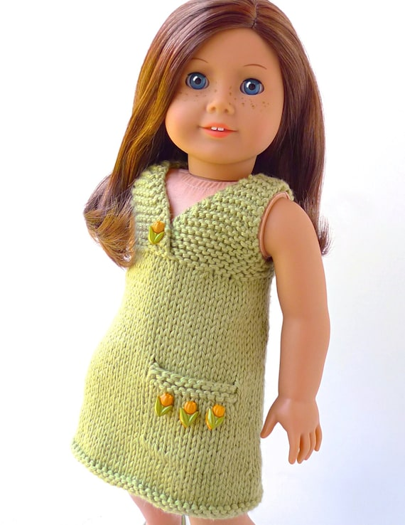 Doll Clothes Knitting Pattern Pdf For 18 Inch American Girl Etsy