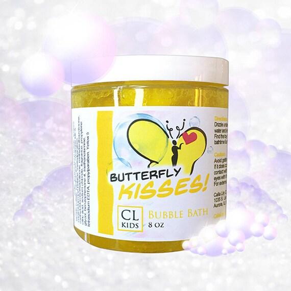 Butterfly Kisses «ananas frais» bain moussant slime