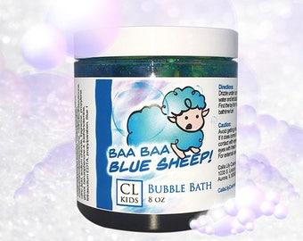 "Blue Sheep ""blueberry"" bubble bath slime"