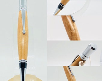 Hand made | maple | Executive | twist top |roller ball style pen