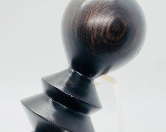 Hand made | African Black-wood | wood | wine bottle stopper