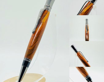 Hand made | Cocobolo | Executive | Twist top | Roller ball style pen