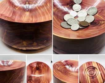 Hand made | eastern red cedar | wood | bowl