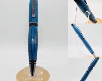 """Hand made   wood   cigar pen   """"Blue Steel"""""""