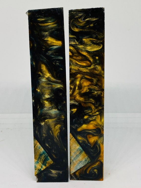 Alumilite hybrid epoxy resin pen blanks