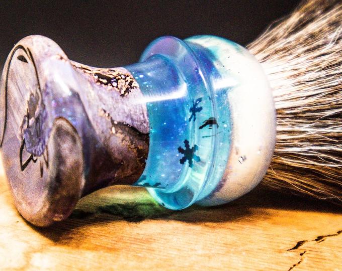 Hybrid diamond infused Shave Brush