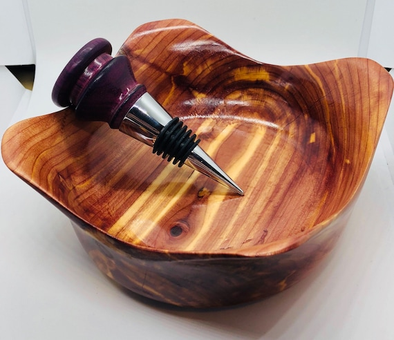 Eastern Red cedar | winged | wood | bowl | handmade | Red Cedar bowl |Red Cedar | Cedar