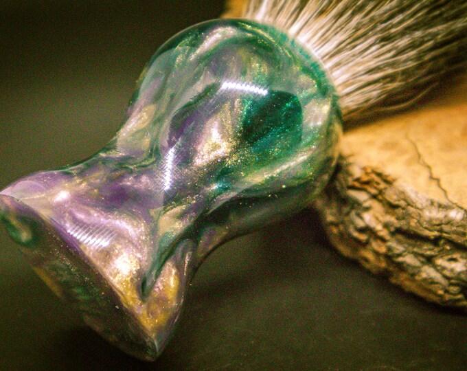 Diamond infused shave brush