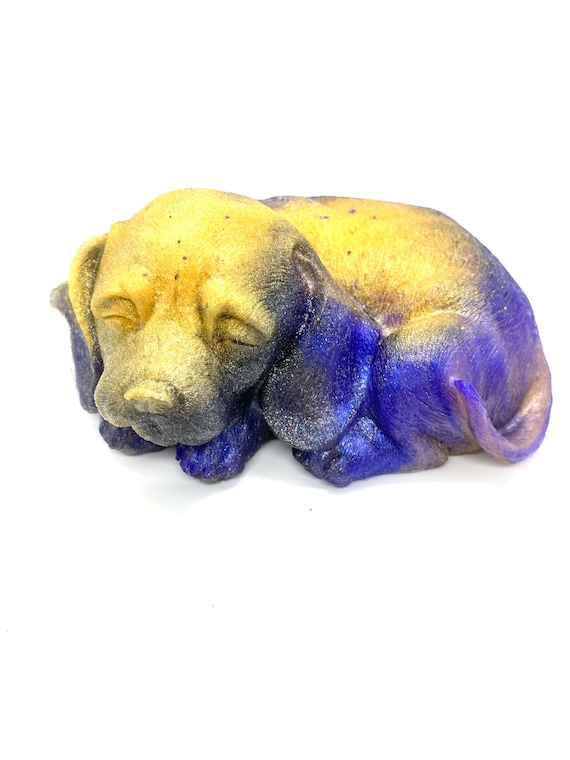 Sleeping puppers figurine