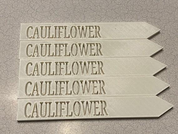 """3D printed garden stakes """"Cauliflower"""""""