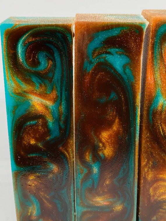 Alumilite epoxy resin pen blanks