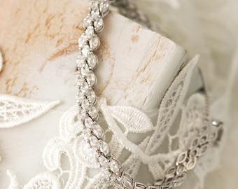 Tennis Bracelet, Silver Bridal Jewelry, Crystal Wedding Bracelet, CZ Bracelet, Wedding Jewelry, Bridal Accessories, Bridal Jewelry, B099-S