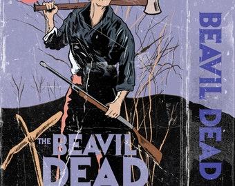 The Beavil Dead art print