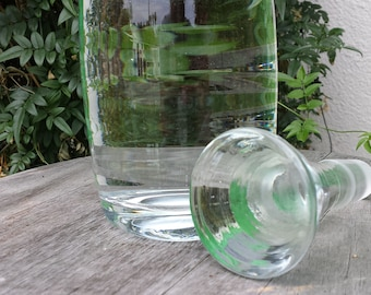 Showstopper Clear Glass Decanter