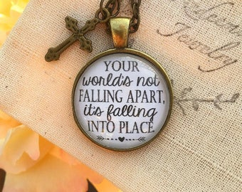 Casting Crowns Just Be Held Necklace