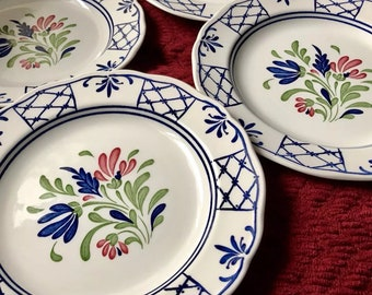 Johnson Brothers England Provincial- set of 4 Dinner plates