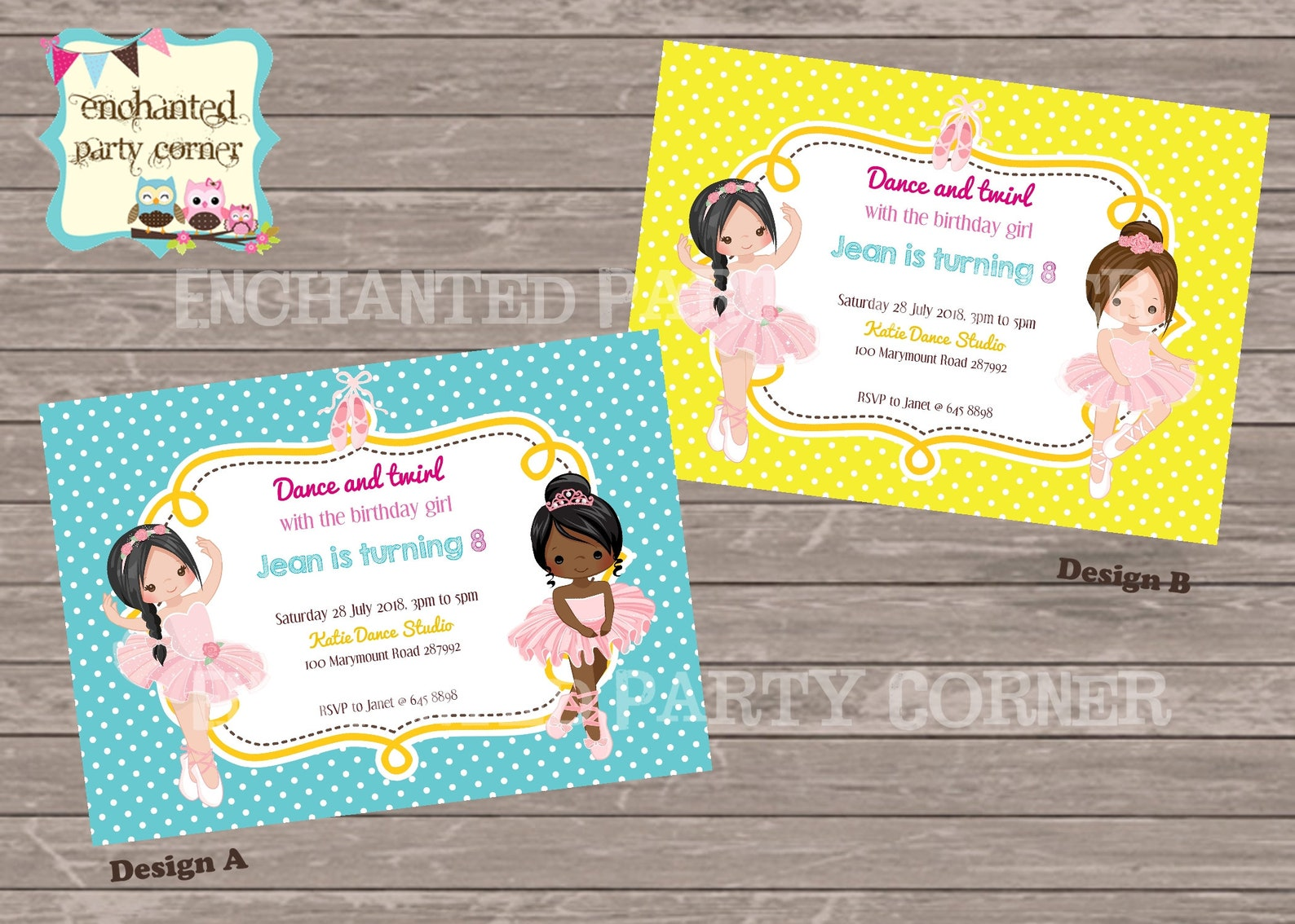 dance and twirl with the birthday invite for girls, ballet shoes, ballet invitation!