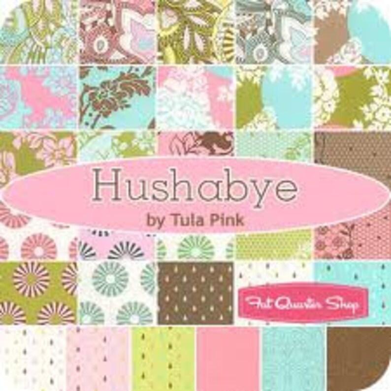 Hushabye 12 FQ bundle OOP Tula Pink 2009 Moda fabrics