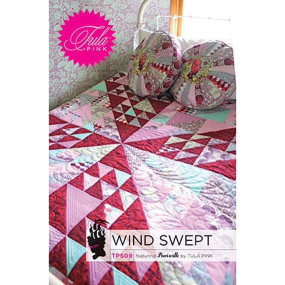 Wind Swept Quilt Pattern By Tula Pink Etsy