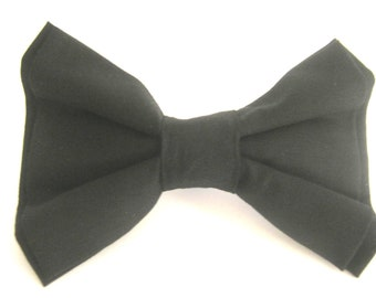 Black Dog Bow Tie Large Dog Bow Tie Pet Bow Tie Bowtie For Dog Small Dog Bow Tie Wedding Dog Bowtie