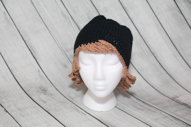 Croceht gorro ganchillo/sombrero peluca sombreros cáncer | Etsy