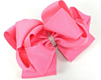 Pink Triple Layer Bow