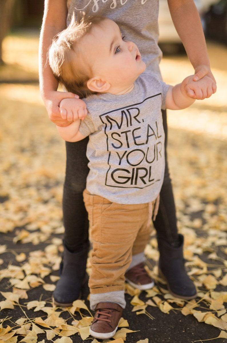 Toddler Shirt Mr. Steal Your Girl Toddler Tshirt Boys image 0