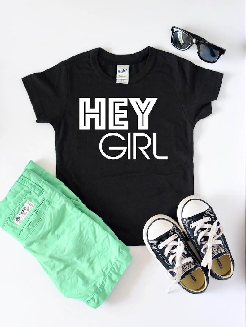 badd6f05 Toddler Shirt Kids T Shirt Hey Girl Toddler Tshirt Boys | Etsy