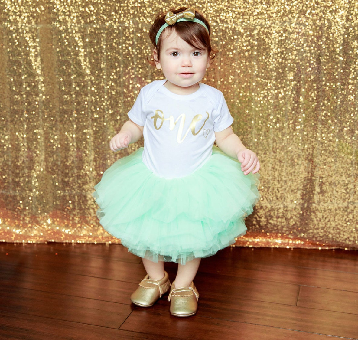 0901be072 Baby Girl Tutu Mint Aqua Tutu 10 Layer Baby/Toddler Mint   Etsy